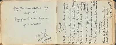 Autograph Book of QMAAC Wkr Margaret McElligott (7)