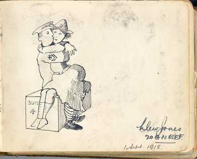Autograph Book of QMAAC Wkr Margaret McElligott (12)