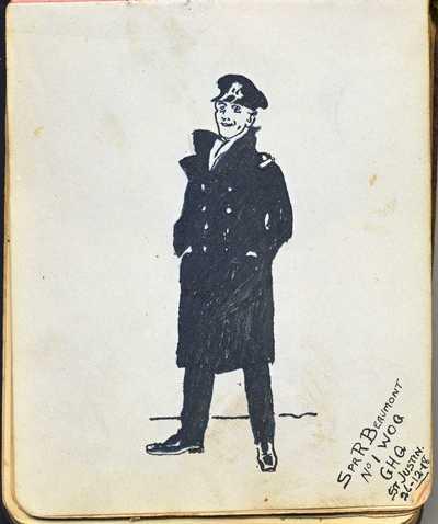 Autograph Book of QMAAC Wkr Margaret McElligott (17)