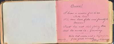 Autograph Book of QMAAC Wkr Margaret McElligott (28)