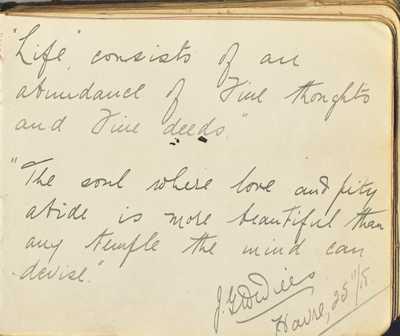 Autograph Book of QMAAC Wkr Margaret McElligott (34)