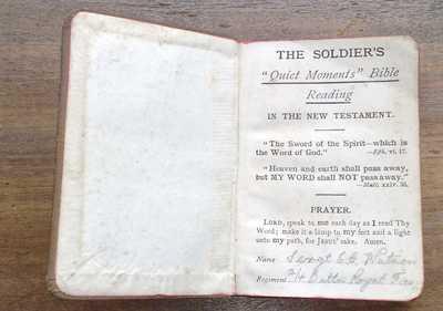 New Testament of Edward Watson (1)