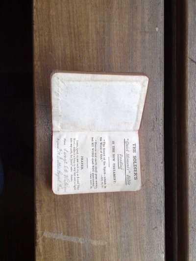 New Testament of Edward Watson (2)