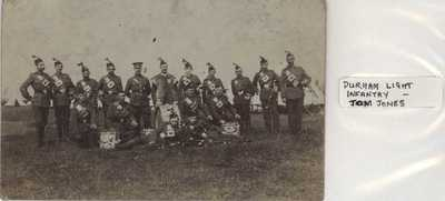 Photograph of the Durham Light Infantry