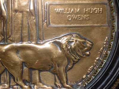 Memorial Plaque of William Hugh Owen(s) (1)