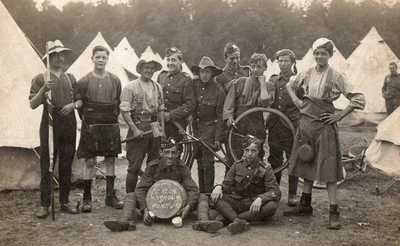 Fancy dress whilst in camp