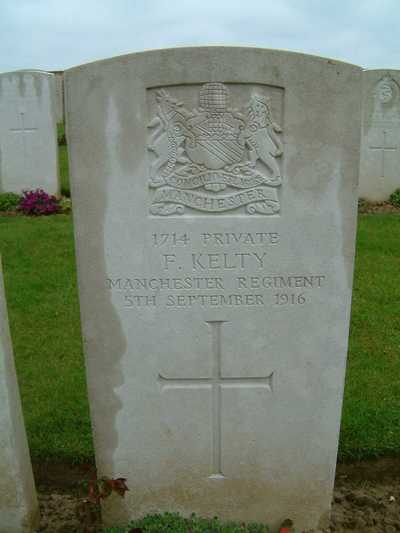 The Grave of Private Frank Kelty (2)