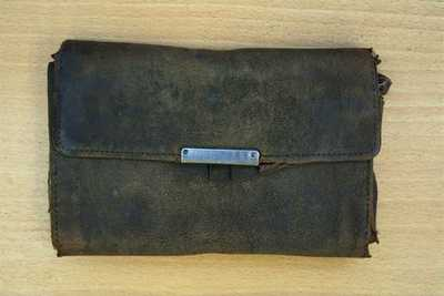 Wallet and pencil carried by John Barnard during his service in France (2)