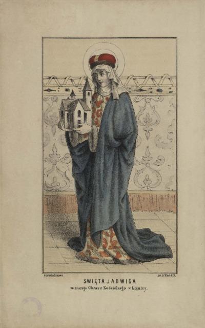 Święta Jadwiga ze starego Obrazu Kościelnego w Lignicy