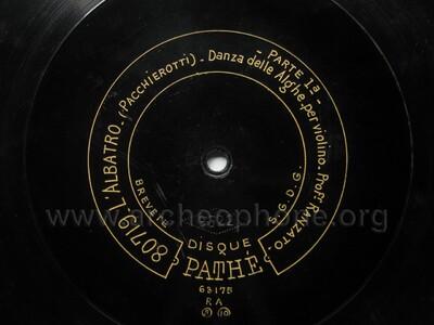 Image from object titled L'albatro ; danza delle alghe, 1a parte