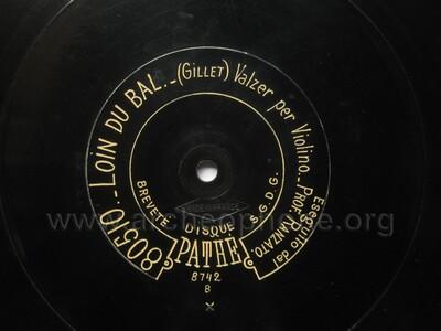 Image from object titled Loin du bal, valse