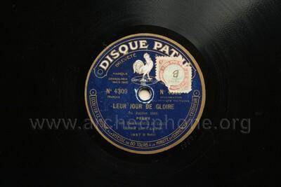 Leur Jour De Gloire 14 Juillet 1919 Poème Le Défilé De
