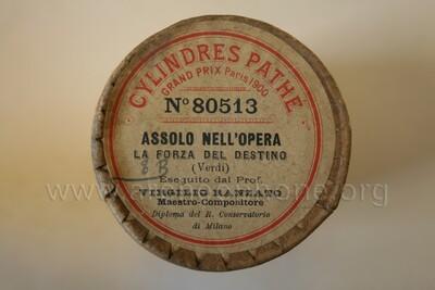 Image from object titled Assolo nell'opera La Forza del destino – La force du destin; fantaisie pour violon