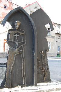 Image from object titled Chełmża – monument to blessed Jutta of Kulmsee and Bp Heidenreich
