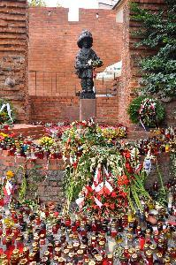 Warsaw – the Monument of the Little Insurgent