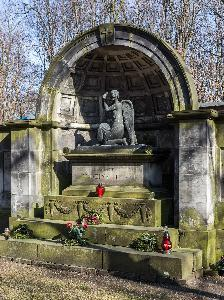 Warsaw - tombstone of Herse family
