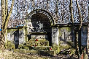 Warszawa - grób rodziny Herse
