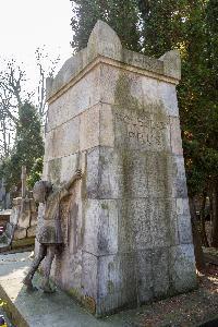 Warszawa - grobowiec Bolesława Prusa