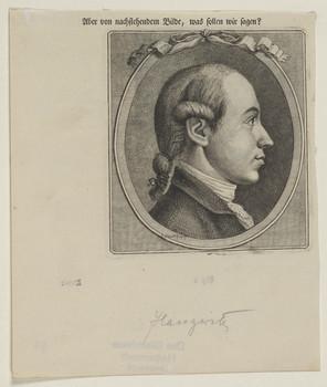 Bildnis des Christian August Heinrich Haugwitz