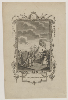 Doppelbildnis des Georg III. von Großbritannien und der Queen Charlotte