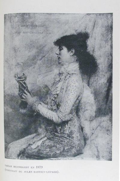 Sarah Bernhardt en 1879 : portrait