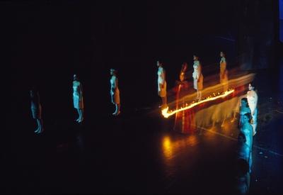Krst pod Triglavom, Gledališče Sester Scipion Nasice, 1985/86. Fotografija 1