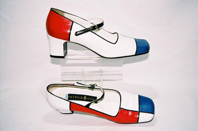 Ladies pumps by designer Patrick Cox.