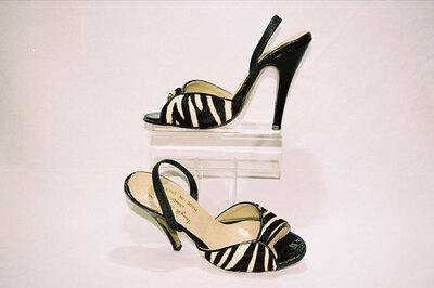 Ladies sandals by designer Terry de Havilland.