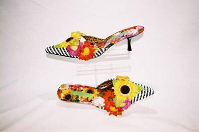 Ladies mules by designer Beverly Feldman.