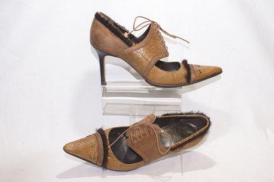 Ladies shoes by designer John Galliano.