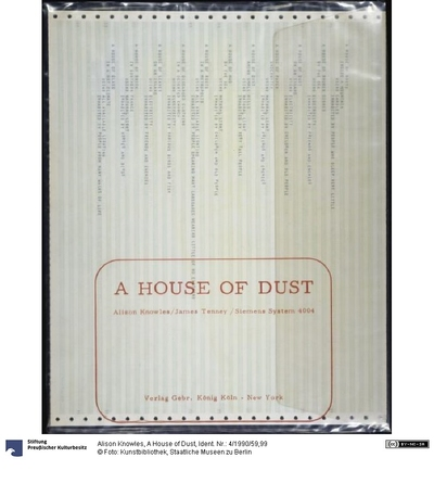 A House of Dust