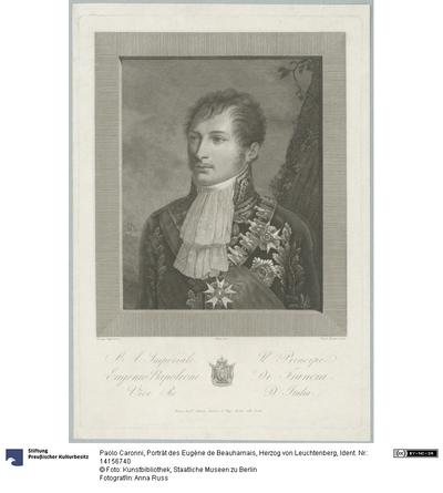 Porträt des Eugène de Beauharnais, Herzog von Leuchtenberg