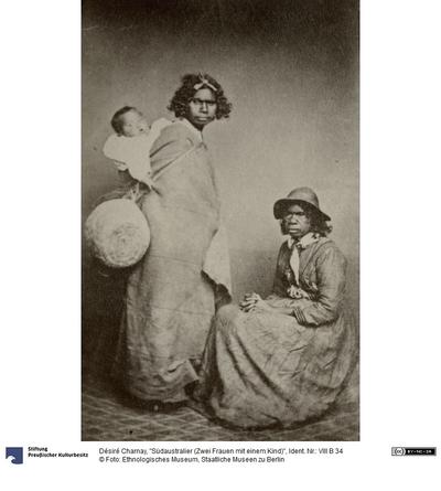 Südaustralier (Zwei Frauen mit einem Kind)
