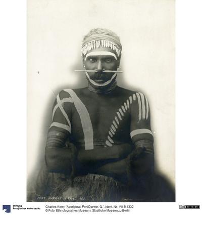 Aboriginal, Port Darwin. Q.