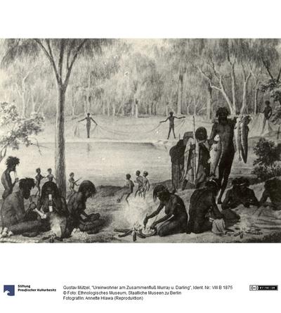 Ureinwohner am Zusammenfluß Murray u. Darling