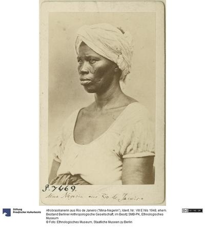 "Afrobrasilianerin aus Rio de Janeiro (""Mina-Negerin"")"
