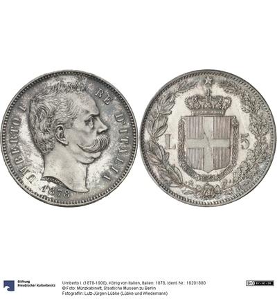 Italien: 1878