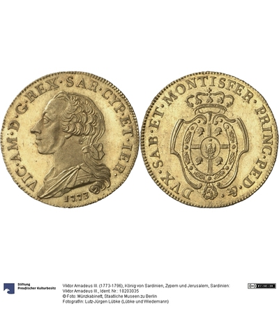 Sardinien: Viktor Amadeus III.