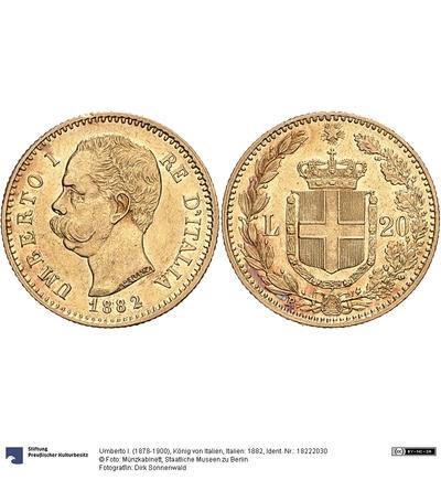 Italien: 1882