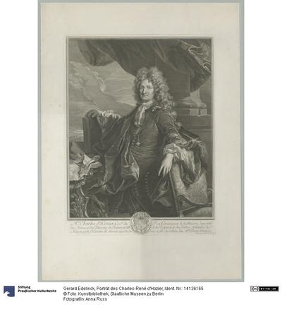 Porträt des Charles-René d'Hozier