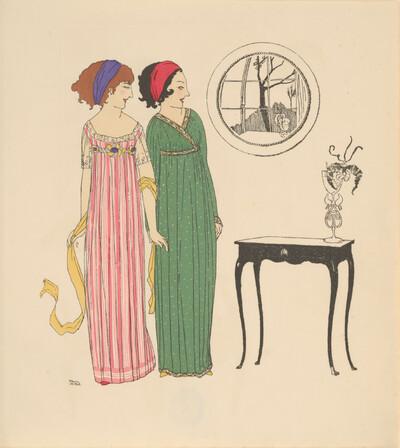 Les Robes de Paul Poiret: Tafel 1