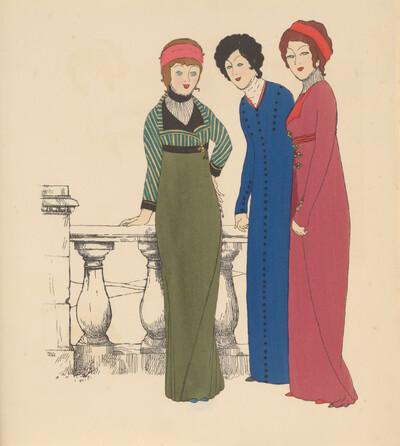 Les Robes de Paul Poiret: Tafel 7