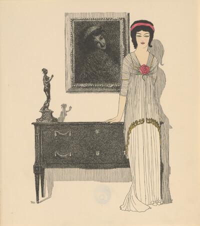 Les Robes de Paul Poiret: Tafel 10