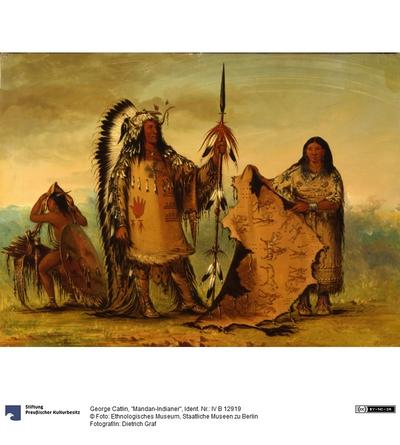 """Mandan-Indianer"""