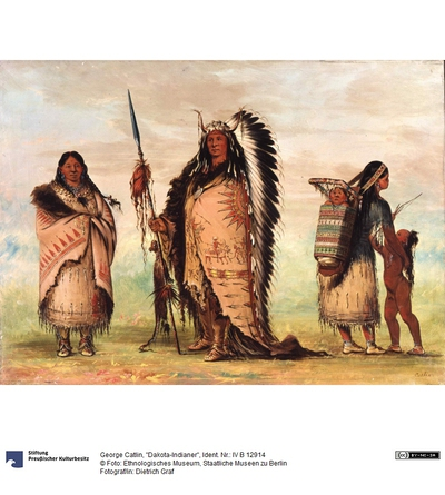 """Dakota-Indianer"""