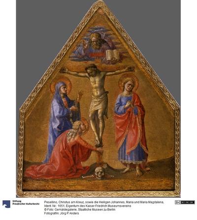 Christus am Kreuz zwischen Maria, Johannes und Maria Madgalena / The Crucifixion between the Virgin Mary, Sts. John and the Magdalene