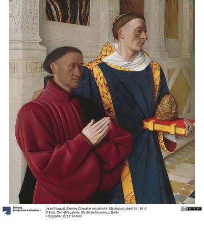 Etienne Chevalier (gest. 1474) mit dem heiligen Stephanus