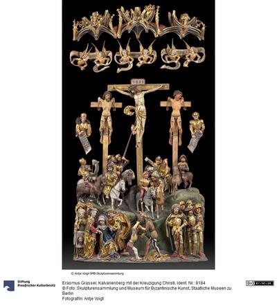 Kalvarienberg mit der Kreuzigung Christi