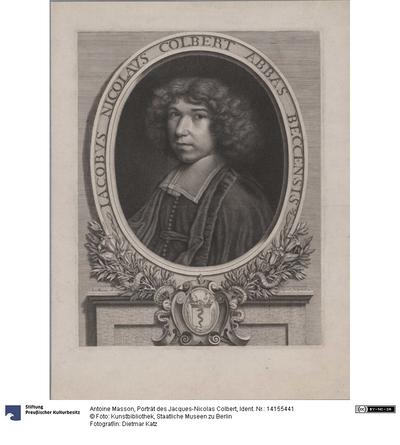 Porträt des Jacques-Nicolas Colbert