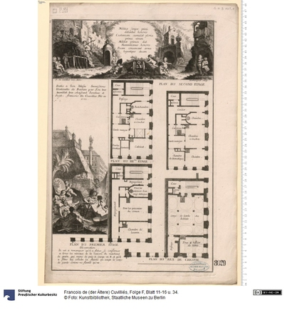 Folge F, Blatt 11-16 u. 34.